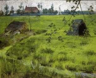 A Bit of Holland Meadows (aka A Bit of Green in Holland) — Уильям Меррит Чейз