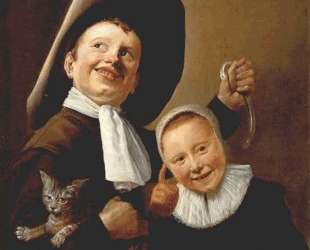 A Boy and a Girl with a Cat and an Eel — Юдит Лейстер