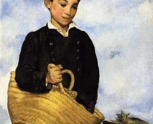 A boy with a dog — Эдуард Мане