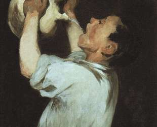 A boy with a pitcher — Эдуард Мане