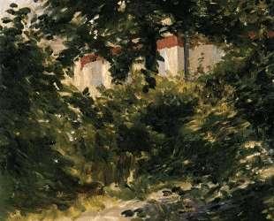 A Corner of the Garden in Rueil — Эдуард Мане