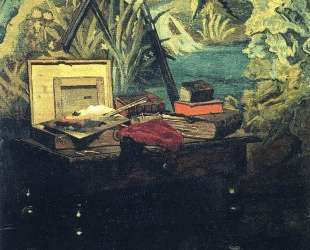 Угол студии — Клод Моне