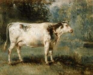 A Cow in a Landscape — Констан Труайон