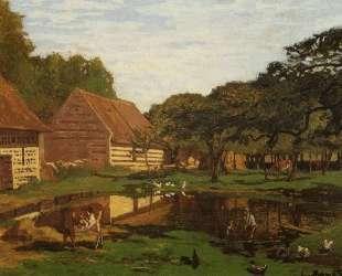 Ферма в Нормандии — Клод Моне