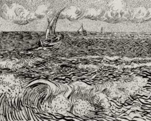A Fishing Boat at Sea — Винсент Ван Гог