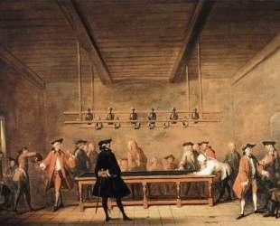 A Game of Billiards — Жан Батист Симеон Шарден