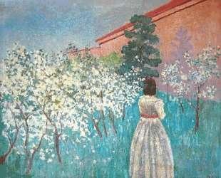 Цветущий сад — Виктор Борисов-Мусатов