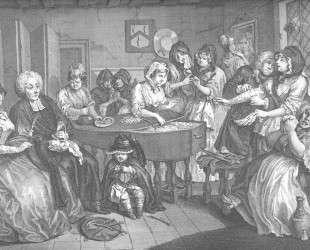 A Harlot's Progress, plate 6 — Уильям Хогарт