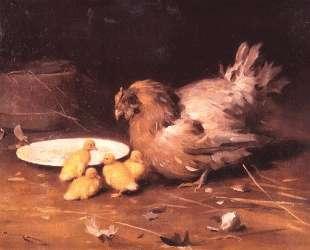 A Hen — Николай Пимоненко