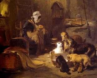 A Highland Breakfast — Эдвин Генри Ландсир