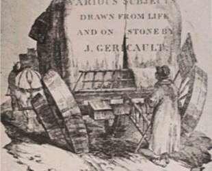 A hitched wagon — Теодор Жерико