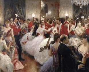 A Hunt Ball — Юлиус Леблан Стюарт