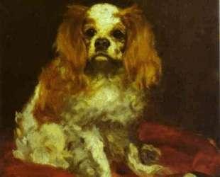 A King Charles Spanie — Эдуард Мане