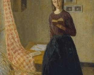 A Lady Reading — Гвен Джон