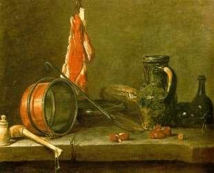 A Lean Diet with Cooking Utensils — Жан Батист Симеон Шарден