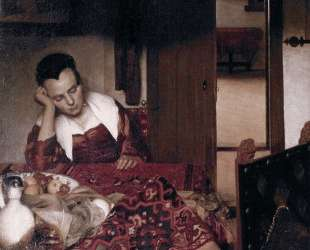 A maid asleep — Ян Вермеер