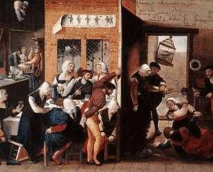 A Merry Company — Ян ван Хемессен