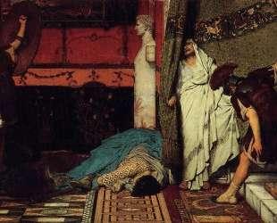 Римский император Клавдий — Лоуренс Альма-Тадема