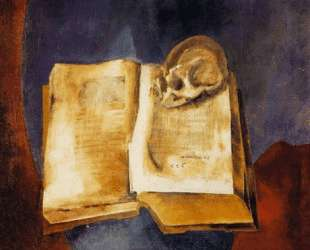 A Skull on the Open Book — Владимир Татлин