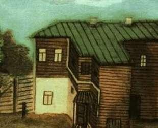Домик в Москве — Павел Филонов