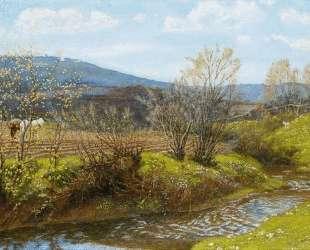 A Spring Afternoon — Артур Хьюз