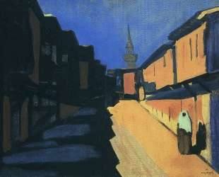 A street. Evening. — Мартирос Сарьян