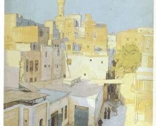 Улочка в Каире — Иван Билибин