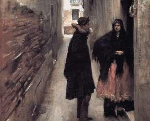 A Street in Venice — Джон Сингер Сарджент