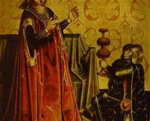 Abishai Kneeling before David — Конрад Виц