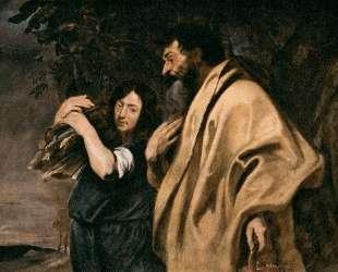 Авраам и Исаак — Антонис ван Дейк