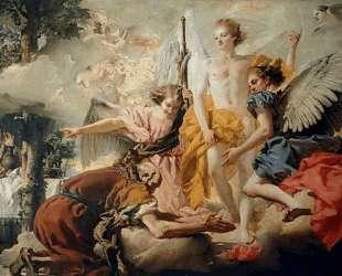 Abraham and the Three Angels — Джованни Доменико Тьеполо