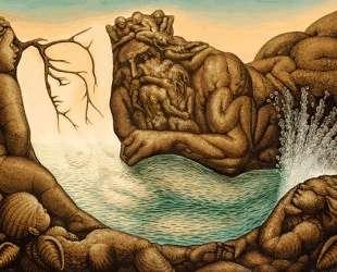 Absents of the mermaid — Октавио Окампо