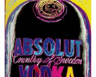 Absolut Vodka — Энди Уорхол