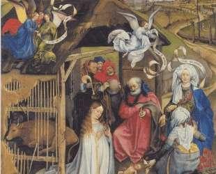Adoration of Shepherds — Робер Кампен
