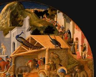 Adoration of the Magi (detail) — Филиппо Липпи
