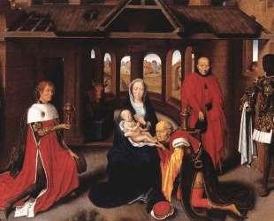 Поклонение волхвов — Ганс Мемлинг