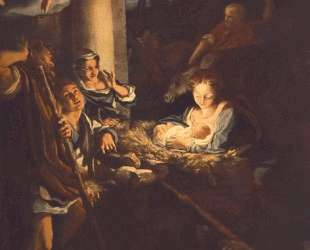 Поклонение пастухов (Святая ночь) — Корреджо