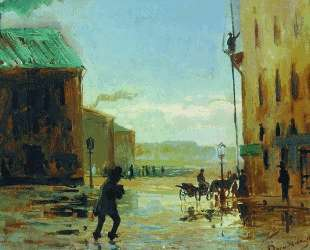 После дождя (Весна в Петербурге) — Фёдор Васильев