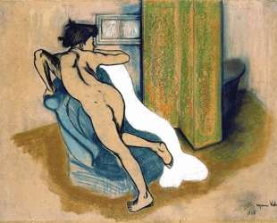 After the bath — Сюзанна Валадон