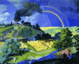 После грозы — Борис Кустодиев
