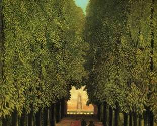 Alleyway in the Park of Saint Cloud — Анри Руссо