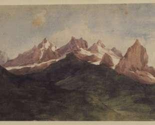 Alpine landscape — Джордж Фредерик Уоттс