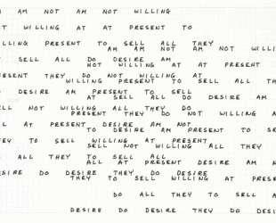 Am Am Not Am Not Willing — Карл Андре