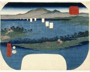 Ama No Hashidate in Tango Province — Хиросиге