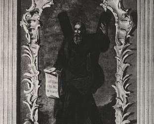Апостол Андрей. Икона из иконостаса Андреевской церкви в Киеве — Алексей Антропов