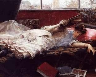 An Idle Afternoon — Юлиус Леблан Стюарт
