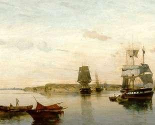 Anchored boats — Константинос Воланакис