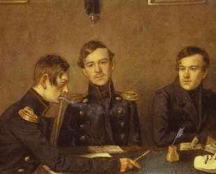Andrey, Grigoriy and Alexander Druzhinin — Павел Федотов