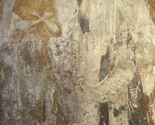 Ангел вручает преподобному Пахомию общежительный монашеский устав. — Андрей Рублёв