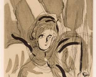 Ангел с мечом — Марк Шагал